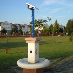 Solarne javne česme i tuševi