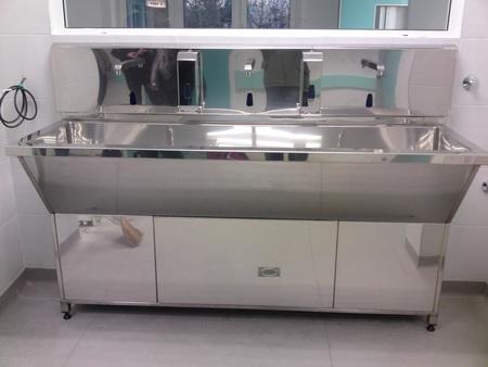 Senzorske sudopere i valovi - hiruško korito