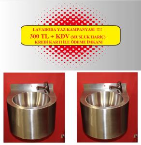 antivandal sanitarije - umivaonik polukružni