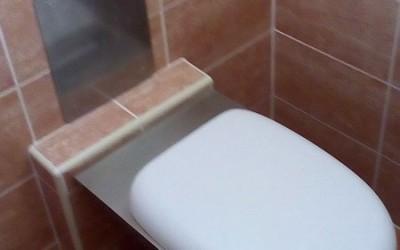 wc šolja inox sa senzorskim ispiračem