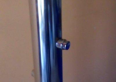 Tuševi sa samozatvarajućim ventilima - detalj